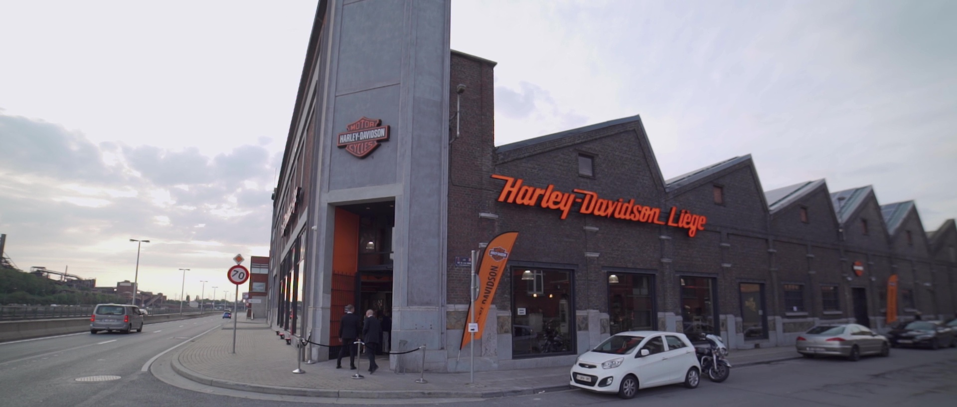 Inauguration Harley-Davidson Liège