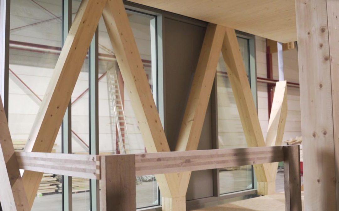 Wooden: mock-up de la façade